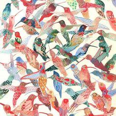 Hummingbirds- Larger Archival Prints