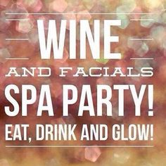 Who's ready for a #spa #party? http://april_medlock.myitworks.com