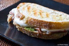 Crab Salad and Sourdough Panini Recipe | SimplyRecipes.com