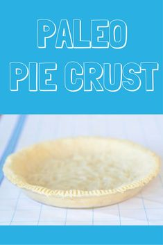 Easy Paleo Pie Crust made with 4 healthy ingredients almond flour, salt, coconut oil, and egg, is perfect for fruit or creamy pie fillings. I love using almond flour for pie crusts and other paleo baked goods because its gluten-free, grain-free, and muc