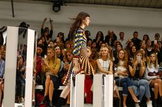 Mary Katrantzou Spring 2017 Ready-to-Wear Atmosphere and Candid Photos - Vogue