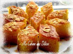 Basboussa gâteau de semoule | La cuisine de Djouza