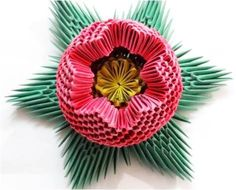 sandylandya@outlook.es  Modular Origami: beautiful 3D flower