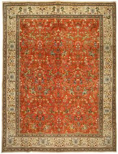 Tabriz Patina carpet 310x415