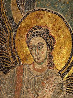 Detalle. Ábside de la iglesia de Germigny-des-Prés