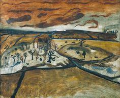 Ben Nicholson OM, '1928 (foothills, Cumberland)' 1928