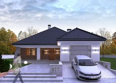 Design and technology Heating gas boiler windows and patio doors PVC businesses Oknoplast roofing ceramic plain tiles Wienerberger outer wall. Gas Boiler, Patio Doors, Czech Republic, Exterior Design, Luxury Homes, House Plans, House Design, Windows, How To Plan