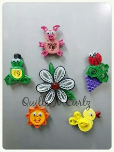 By Uttara Paper Quilling Tutorial, Paper Quilling Cards, Paper Quilling Jewelry, Origami And Quilling, Quilled Paper Art, Paper Quilling Designs, Quilling Patterns, Quilling Dolls, Quilling Paper Craft