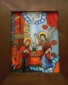 Orthodox Icons, Ikon, Glass, Painting, Christian Art, Ornaments, Winter, Noel, Drinkware
