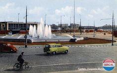 Hofplein Rotterdam (jaartal: 1960 tot 1970) Wat een rust! Bijna ondenkbaar, wat is dat snel veranderd.