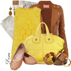 Brown and Yellow :)