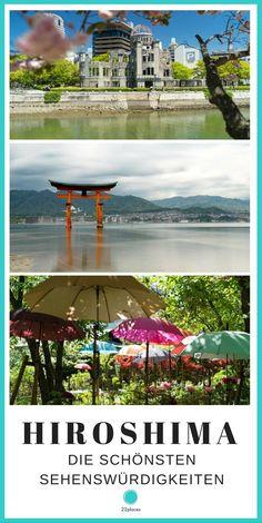 Hiroshima – Die schönsten Sehenswürdigkeiten und unsere Tipps für diese beeindruckende Stadt und die Insel Miyajima.