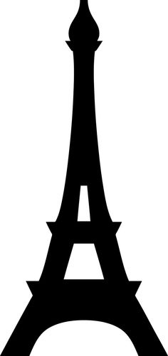 eiffel tower large silhouette - Google Search