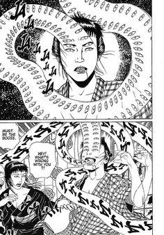 Totally normal, happens all the time Japanese Horror, Japanese Art, Manga Anime, Anime Art, Ero Guro, Junji Ito, Art Vintage, Ligne Claire, Art Japonais