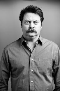 Just because I love Nick Offerman as Ron Swanson.
