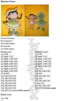 Описание куколки Зинки