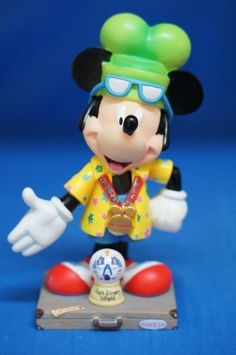 "Mickey I'm Going To Disney World 6"" Figurine 17828 Disney Inspearations Retired #WestlandGiftware #Figurines"