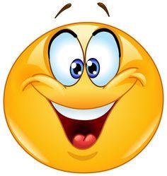 Goede Stemming Smiley! :) ➸ http://www.symbols-n-emoticons.com/2015/07/good-mood-smiley.html
