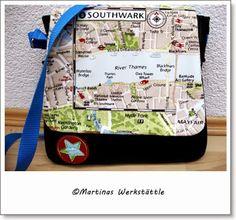 Martinas Werkstättle - für dich genäht! London Tasche fürs Töchterchen.