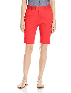 Dockers Women's Ideal Bermuda Short, Salsa, 12 ** Check out the image by visiting the link.