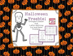 """This is a little emergent reader for you to use during the Halloween season.  It use the repetitive phrase """"I see a _____.""""  For you to introduce reading sentences to your little ones!  This decodable book would be great for a Halloween center, homework, or a guided reading group."""