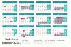 Ferienkalender 2017 für Mecklenburg-Vorpommern http://www.kalender-2017.net/ferien-meck-pomm/