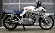 1981 Suzuki Katana - What a look...At the time it was off the wall radical.