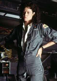 Sigourney Weaver as Ellen Ripley in the 'Alien' trilogy. I say 'trilogy' because I completely disregard the fourth installment. --Reference for Ripley costume Alien Film, Alien 1979, Fiction Movies, Sci Fi Movies, Science Fiction, Pet Sematary, David Fincher, James Cameron, Anna Fisher