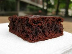 BakerGal Chewy Paleo Brownie Recipe: The BEST Paleo Brownie Recipe! (From Bakergal.com)
