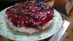My BFF Anastasia makes me a birthday cake Love u