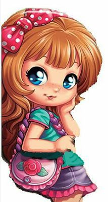🌻✿ ❀ ❁✿ For more great pins go to Cartoon Pics, Girl Cartoon, Cute Cartoon, Strawberry Shortcake Characters, Doll Painting, Fairy Art, Cute Dolls, Anime Art Girl, Big Eyes