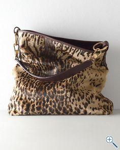Calf-Hair Shoulder Bag