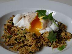 DSCF3401 Duck Eggs, Farm Shop, Poached Eggs, Lentils, Vegetarian Recipes, Spices, Breakfast, Ethnic Recipes, Blog
