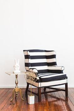 An accent chair you won't forget.