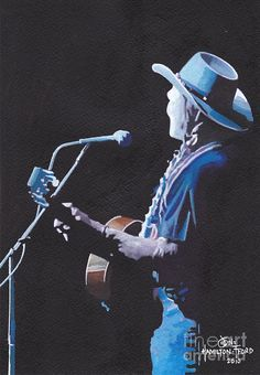 The Country Singer Painting by Jon Hamilton-Fford