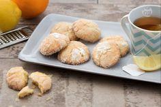 Biscotti morbidi limone e arancia