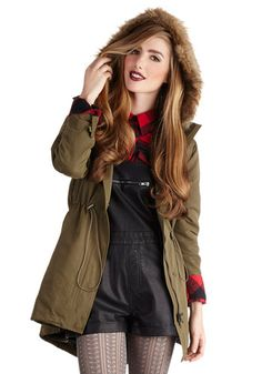 Hayride with Me Coat, #ModCloth