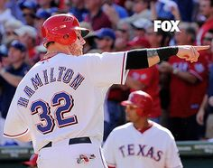 Josh Hamilton. Former Charleston Riverdog and an inspirational comeback story!