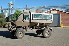The original MRAP. Military Personnel, Military Vehicles, Tank Armor, Bug Out Vehicle, Military Armor, Defence Force, Armored Fighting Vehicle, Hot Rides, Military Equipment