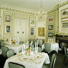 Brennan's Restaurant in New Orleans. I have video of table side service in the preparation of Banana's Foster.