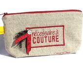 Trousse rangement nécessaire à couture : Trousses par toucan sur ALittleMarket