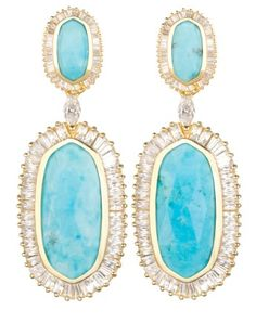 Currently Coveting: Kendra Scott drop earrings
