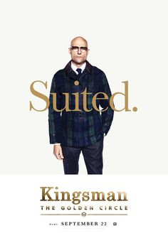 Mark Strong as Merlin in the official character poster for Kingsman: The Golden Circle Merlin Kingsman, Watch Kingsman, Kingsman Movie, Kingsman Shop, Mark Strong, Streaming Movies, Hd Movies, Movie Tv, Movies Online