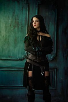 Haunting Yennefer Of Vengerberg Cosplay From 'The Witcher 3′