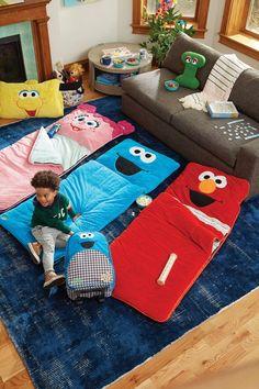 Sesame Street Land of Nod Collection January 2018 Toddler Bedroom Sets, Kids Bedroom, Steel Furniture, Kids Furniture, Cheap Furniture, Sesame Street Room, Kids Sleeping Bags, Baby Room Diy, Land Of Nod