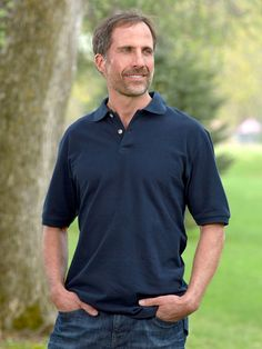 Our Cotton Knit Pique Polo, the Up-for-Anything Classic Every Guy Loves to Wear Casual Outfits, Men Casual, Pique Polo Shirt, Men's Apparel, Guys, Classic, Hot, Fitness, Mens Tops