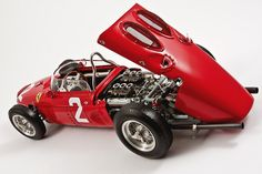 Ferrari 156 sharknose CMC by NGpics, via Flickr Ferrari Racing, Ferrari F1, Old Race Cars, Old Cars, Classic Auto, Classic Cars, Figure Model, Model Car, Diecast Models