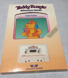 Teddy Ruxpin Uncle Grubby Book and Tape  New  | eBay