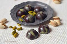 Bonbon mánia: Pisztáciás bonbon Mousse, Matcha, Sweets, Baking, Fruit, Macaron, Balls, Food, Hungary