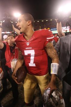 Colin Kaepernick-Niners QB Remember know one cares who came in second!